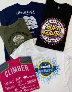 Maumelle Commercial Printing Services Screen Printing 2 client 236x300