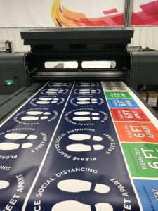 Cabot Graphic Design Services wide format printing client 225x300